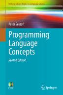 Programming Language Concepts [Pdf/ePub] eBook
