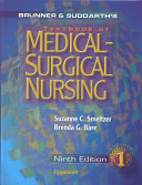 Cover of Brunner and Suddarth's textbook of medical-surgical nursing