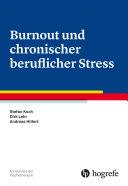 Burnout und chronischer beruflicher Stress Pdf