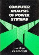 Computer Analysis Of Power Systems Book PDF