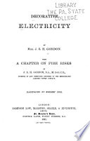 Decorative electricity