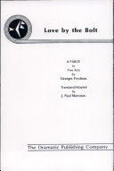 Pdf Love by the Bolt