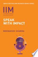 Iima Speak With Impact
