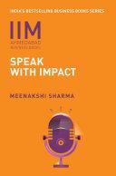 IIMA-Speak with Impact