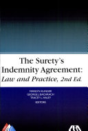 The Surety's Indemnity Agreement