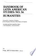 Handbook of Latin American Studies