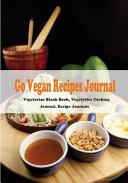 Go Vegan Recipe Journal