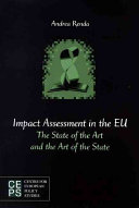 Impact Assessment in the EU