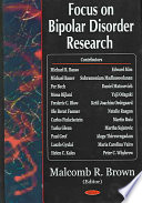 Focus On Bipolar Disorder Research Book PDF