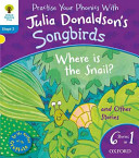 Oxford Reading Tree Songbirds  Stage 3  Where Is the Snail and Other Stories