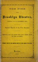 The Fire in the Brooklyn Theatre
