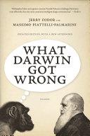 What Darwin Got Wrong Pdf/ePub eBook