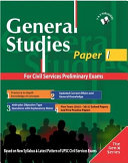 General Studies Paper I Pdf/ePub eBook