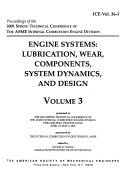 Proceedings of the ... Spring Technical Conference of the ASME Internal Combustion Engine Division