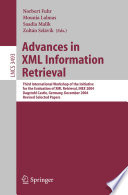 Advances in XML Information Retrieval
