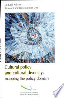 Cultural Policy and Cultural Diversity Book