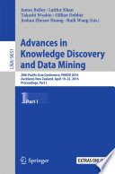 Advances in Knowledge Discovery and Data Mining  : 20th Pacific-Asia Conference, PAKDD 2016, Auckland, New Zealand, April 19-22, 2016, Proceedings , Part 1