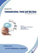 Communication  Cloud and Big Data