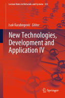 New Technologies  Development and Application IV