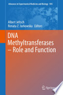 Dna Methyltransferases Role And Function Book PDF