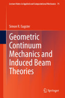 Geometric Continuum Mechanics and Induced Beam Theories