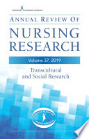 Annual Review Of Nursing Research Volume 37