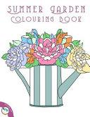 Summer Garden Colouring Book