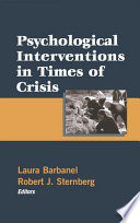 Psychological Interventions in Times of Crisis