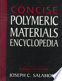 Concise Polymeric Materials Encyclopedia Book