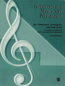 Guidelines for Manuscript Preparation