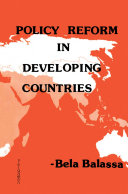 Policy Reform in Developing Countries