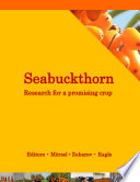 Seabuckthorn Research For A Promising Crop