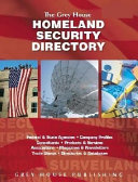 Grey House Homeland Security Directory, 2004