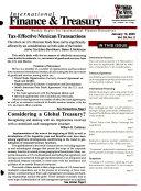 International Finance   Treasury Book