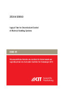 Logical Time for Decentralized Control of Material Handling Systems
