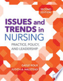 Issues And Trends In Nursing Book