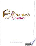 Ella Enchanted Scrapbook