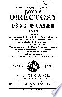 Boyd's Directory of the District of Columbia