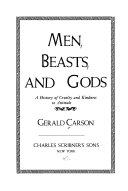 Men  Beasts  and Gods