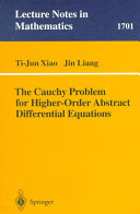The Cauchy Problem for Higher Order Abstract Differential Equations