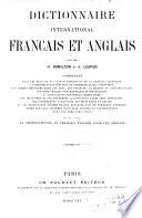 Dictionnaire international fran  ais et anglais