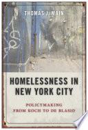 Homelessness in New York City
