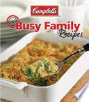 Campbell's Busy Family Recipes