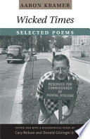 Wicked Times  : Selected Poems