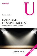 Pdf L'analyse des spectacles - 3e éd. Telecharger
