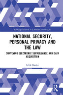 National Security, Personal Privacy and the Law Pdf/ePub eBook