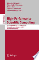 High-Performance Scientific Computing