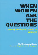 When Women Ask the Questions Book