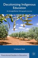 Decolonizing Indigenous Education Pdf/ePub eBook