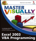 Master Visually Excel 2003 VBA Programming